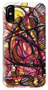2010 Abstract Drawing 24 IPhone Case