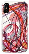 2012 Drawing #3 IPhone Case