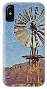 Water Pump Windmill IPhone Case