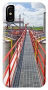 Corn Ethanol Processing Plant IPhone Case