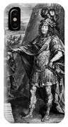 Louis Xiv (1638-1715) IPhone Case