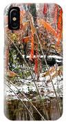 Autumn Snow Monongahela National Forest IPhone Case
