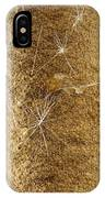 A Cattail Typha Latifolia Disperses IPhone Case