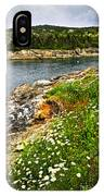 Atlantic Coast In Newfoundland IPhone Case
