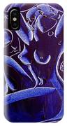 Blue Nude IPhone Case