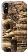 Buddha At Sukhothai IPhone Case