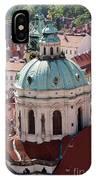 Church Of St Nikolas IPhone Case