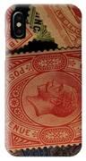 Closeup Of Classic British Empire IPhone Case