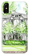 Custom House Rendering IPhone Case