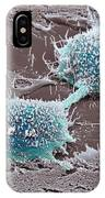 Dividing Cancer Cell, Sem IPhone Case
