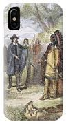 Edward Winslow (1595-1655) IPhone Case