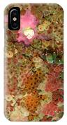 Fluorescent Sea Anemone IPhone Case