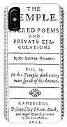 George Herbert (1593-1633) IPhone Case
