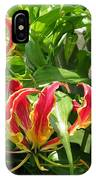 Gloriosa Named Rothschildiana IPhone Case