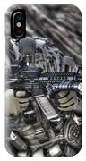 Hdr Image Of A German Army Soldier IPhone Case