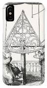 Johannes Hevelius, Polish Astronomer IPhone Case