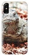 Komodo Dragon IPhone Case