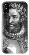 Luiz Vaz De Camoes (1524-1580) IPhone Case
