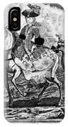 Marquise De Pompadour IPhone Case