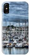 Milford Haven Marina IPhone Case