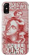 old French postage stamp IPhone Case