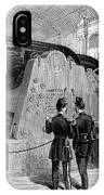 Paris: Exposition Of 1867 IPhone Case