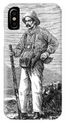 Paul Du Chaillu (1831-1903) IPhone Case