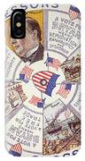 Presidential Campaign, 1896 IPhone Case