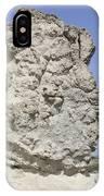 Sarakiniko White Tuff Formations IPhone Case