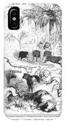 Secession Cartoon, 1861 IPhone Case