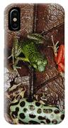 Strawberry Poison Dart Frog Dendrobates IPhone Case