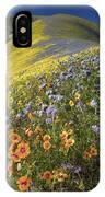 Wildflowers, California IPhone Case