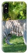35- White Bengal Tiger IPhone Case