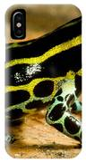 Amazonian Poison Frog IPhone Case