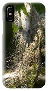 Bird-cherry Ermine Caterpillars IPhone Case
