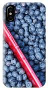Blueberry Harvest IPhone Case