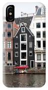 City Scenes From Amsterdam IPhone Case