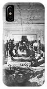 Civil War: Hospital IPhone Case