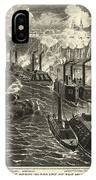 Civil War: Vicksburg, 1863 IPhone Case