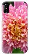 Dahlia Named Siemen Doorenbosch IPhone Case
