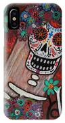 day of the dead BRIDE IPhone Case