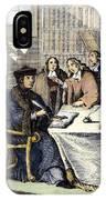 Desiderius Erasmus IPhone Case