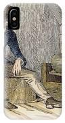 Eli Whitney (1765-1825) IPhone Case