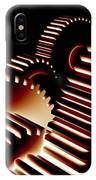 Gear Wheels, Artwork IPhone Case