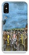 George Whitefield IPhone Case