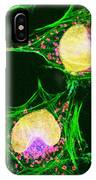 Hela Cells, Light Micrograph IPhone Case