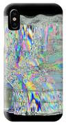 Icicle Cross Section IPhone Case
