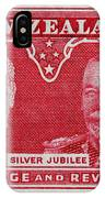 old New Zealand postage stamp IPhone Case