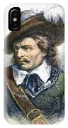 Oliver Cromwell (1599-1658) IPhone Case