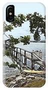 River Walk On The Indian River Lagoon IPhone Case